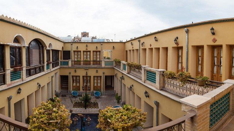 هتل طلوع خورشید اصفهان فضای داخلی هتل 2