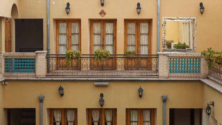 هتل طلوع خورشید اصفهان فضای داخلی هتل 4