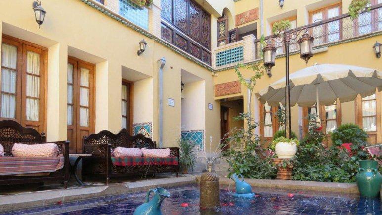 هتل طلوع خورشید اصفهان فضای داخلی هتل 7