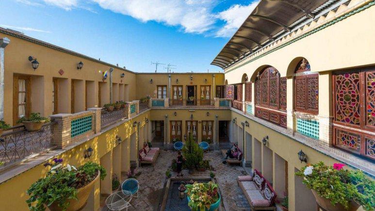 هتل طلوع خورشید اصفهان فضای داخلی هتل 9
