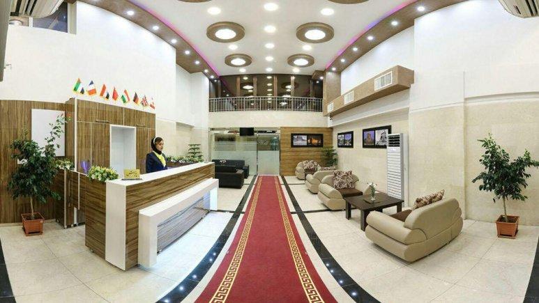 پذیرش هتل رز ریحان شیراز