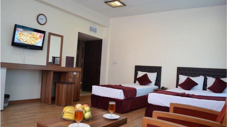 اتاق سه تخته هتل جواهری