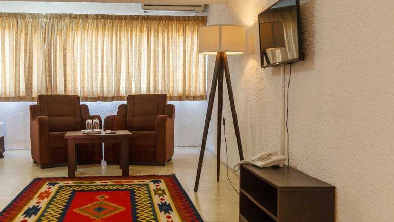هتل گلدیس کیش فضای داخلی اتاق ها