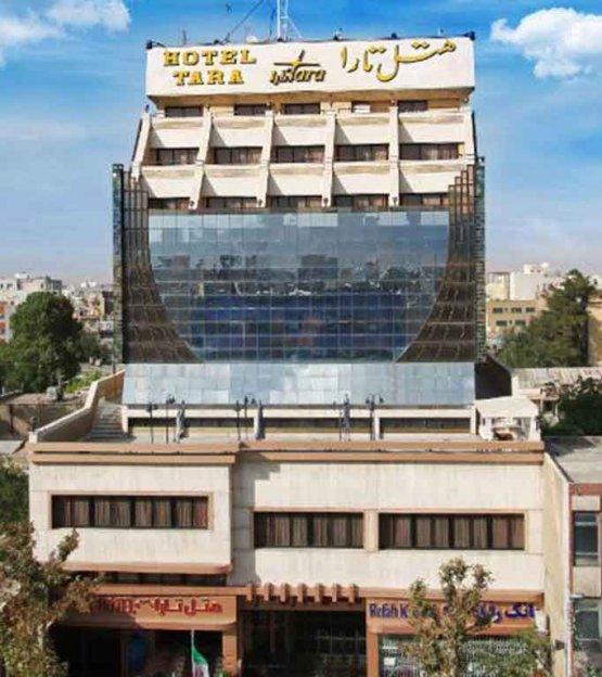 نمای بیرونی هتل تارا